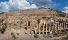 Uno sguardo dal cielo sulla miniera di Ingurtosu |VIDEO