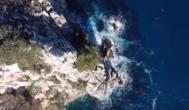 Il mare visto dall'alto: Pedra Longa – Baunei | VIDEO